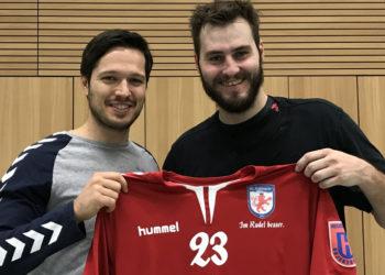 Schlierkamp & Arnaud bei der ersten Verpflichtung 2017.