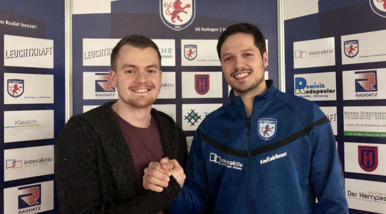 Die SG Ratingen holt für die Torhüterposition den 24-Jährigen Nils Thorben Schmidt.