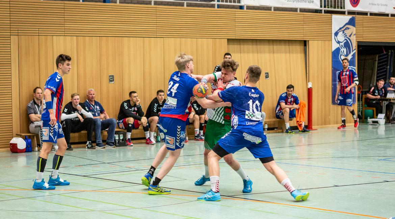 Am letzten Heimspieltag der Saison war die HSG Siebengebirge zu Gast.